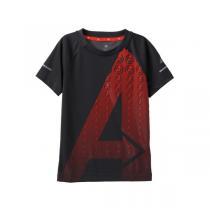 adidas阿迪达斯童运动休闲服装男大童4-13岁针织短袖T恤AB5231
