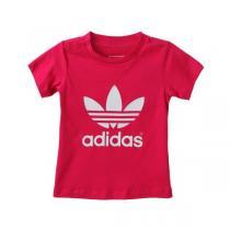 adidas阿迪达斯三叶草童运动休闲服装男婴童0-4岁短袖T恤S14333