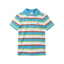adidas阿迪达斯童运动休闲服装男小童4-10岁纯棉短袖T恤892224