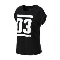 adidas阿迪达斯女装短袖T恤2016新款运动服AI6113
