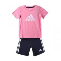 adidas阿迪达斯童服装2016新款女婴童0-4岁套装AO4610
