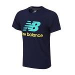 New Balance/NB男装短袖T恤2016新款夏休闲运动服配AMT62612-AVI