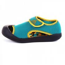 adidas阿迪达斯童休闲男小童4-10岁低帮魔术贴凉鞋AF3877