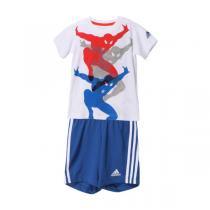 adidas阿迪达斯童服装男婴童0-4岁纯棉套装AK2541
