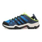 adidas阿迪达斯童鞋子男小童4-10岁低帮系带户外鞋BA8459