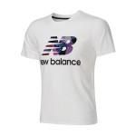 New Balance/NB 男装短袖T恤2016新款夏休闲运动服配AMT62612-WT