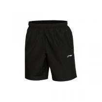 LINING李寧運動短褲男士訓練系列訓練褲梭織短裝夏季運動褲AKSL077