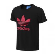 adidas阿迪达斯三叶草女装短袖T恤新款运动服AJ8368