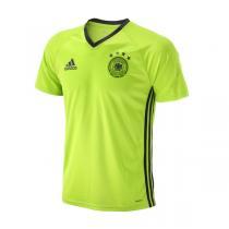 adidas阿迪达斯男装短袖T恤2016新款德国短袖训练三条纹运动服AC6544