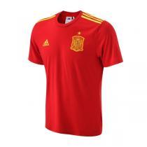 adidas阿迪达斯男装短袖T恤2016新款西班牙球迷版运动服AA0849