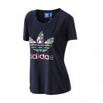 Adidas阿迪达斯三叶草女装短袖T恤新款运动服AJ8963