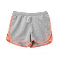 adidas阿迪达斯童运动休闲女小童4-10岁运动短裤AP6462