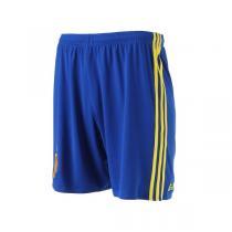 adidas阿迪达斯男装运动短裤2016新款西班牙主场比赛运动服AA0847