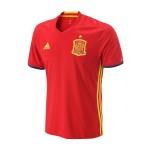 adidas阿迪达斯男装短袖T恤新款西班牙主场运动服AI4411