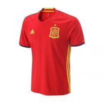 adidas阿迪达斯男装短袖T恤2016新款西班牙主场运动服AI4411
