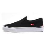 DCSHOECOUSA新款运动鞋一脚蹬TRASE SLIP ON休闲帆布滑板ADYS300184-BKW