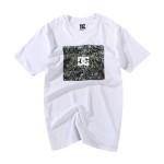 DCSHOECOUSA 经典款男运动服纯棉圆领T恤宽松简约DC LOGO