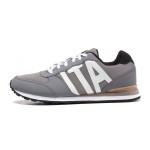 KB 卡帕KAPPA男鞋低帮休闲跑步鞋运动鞋运动生活PU耐磨K0455MM03-102 QC
