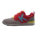 【夏】卡帕KAPPA女鞋低帮休闲跑步鞋运动鞋运动生活牛皮K0465MM61-102 QC