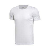 LINING李宁短袖T恤男士短装夏季圆领针织运动服ATSL053