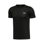 李寧短袖T恤男士短裝夏季圓領針織運動服ATSL053
