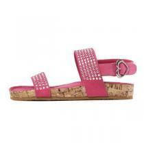 斯凯奇童 女大童凉鞋水钻运动鞋86667LA/HPK