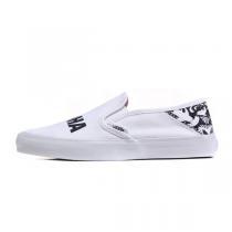 范斯VANS女鞋休闲鞋新款冲浪Slip-On运动鞋帆布VN00019SIWF  DMQC