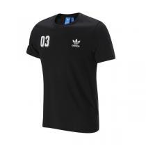 Adidas阿迪达斯三叶草男装短袖T恤新款运动服AZ1021 QJ