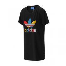 Adidas阿迪达斯三叶草女装短袖T恤2016新款运动服B36928 QJ