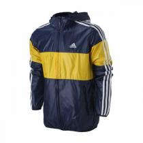 adidas阿迪达斯男装外套夹克新款三条纹运动服AY3812