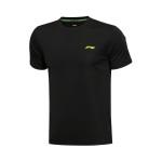 LINING李宁新款男装训练系列短袖T恤运动服AHSL183