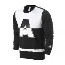 adidas阿迪达斯男装卫衣新款套头衫运动服AY3712