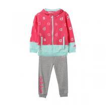 adidas阿迪达斯秋冬款童服装婴童套装女婴童0-4岁针织套装AY4631