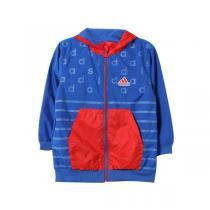 adidas阿迪达斯秋冬款童服装婴童夹克男婴童0-4岁梭织外套AY4632 QIU