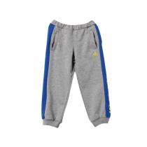 adidas阿迪达斯秋冬款童服装小童长裤男小童4-10岁针织运动长裤AY4652