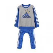 adidas阿迪达斯秋冬款童服装婴童套装男婴童0-4岁针织套装AY4628