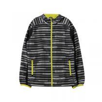 adidas阿迪达斯秋冬款童服装大童夹克男大童10-13岁梭织外套AY4707 QIU