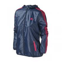 adidas阿迪达斯女装外套夹克2016新款三条纹运动服AY4035