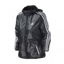 adidas阿迪达斯女装外套夹克新款三条纹运动服AY4036