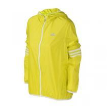 adidas阿迪达斯女装外套夹克2016新款跑步三条纹运动服B43364