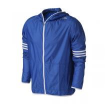 adidas阿迪达斯男装外套夹克2016新款跑步三条纹运动服B43363