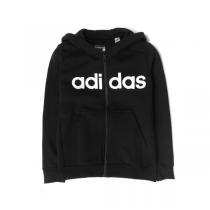 adidas阿迪达斯秋冬款童装男大童10-13岁儿童休闲细绒外套S23207 QIU