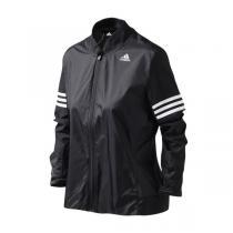 adidas阿迪达斯女装外套夹克新款跑步三条纹运动服AA5639