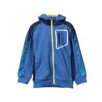 阿迪达斯adidas 秋冬款 男小童4-10岁童装梭织防风外套运动服AY4655