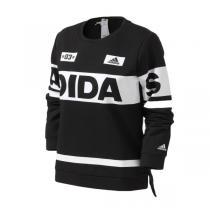adidas阿迪达斯女装卫衣2016新款套头衫运动服BQ1317
