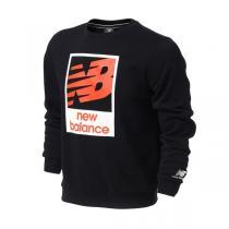 NewBalance-NB 新款男装卫衣运动服运动休闲AMT64606-BK FP