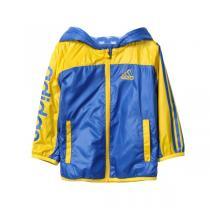 阿迪达斯adidas童装男婴童0-4岁秋冬款休闲生活梭织防风外套夹克童装AZ8577