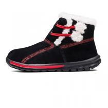 斯凯奇Skechers童鞋中性大童GO WALK 加厚毛里保暖防滑短靴664002