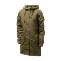 adidas阿迪达斯NEO女装外套夹克新款连帽长风衣运动服AZ0012