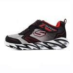 斯凯奇童鞋男小大童4-13岁时尚撞色超轻跑步运动鞋95955L